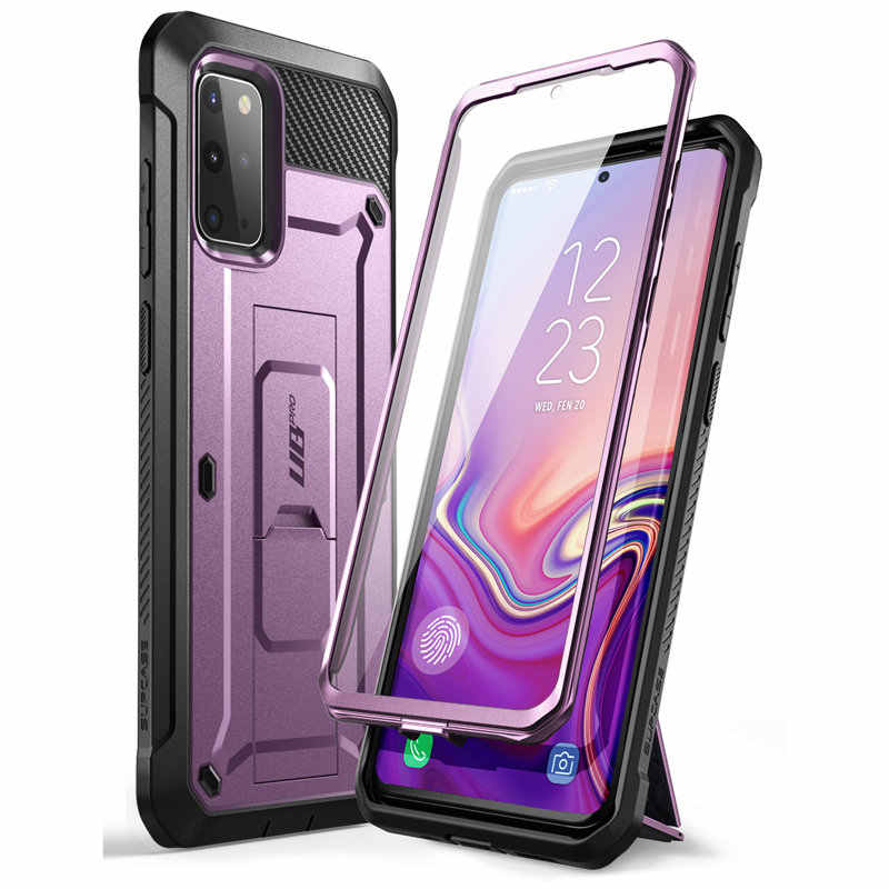 For Samsung Galaxy S20 Plus Case / S20 Plus 5G Case (2020) SUPCASE UB Pro Full-Body Holster Cover WITH Built-in Screen Protector