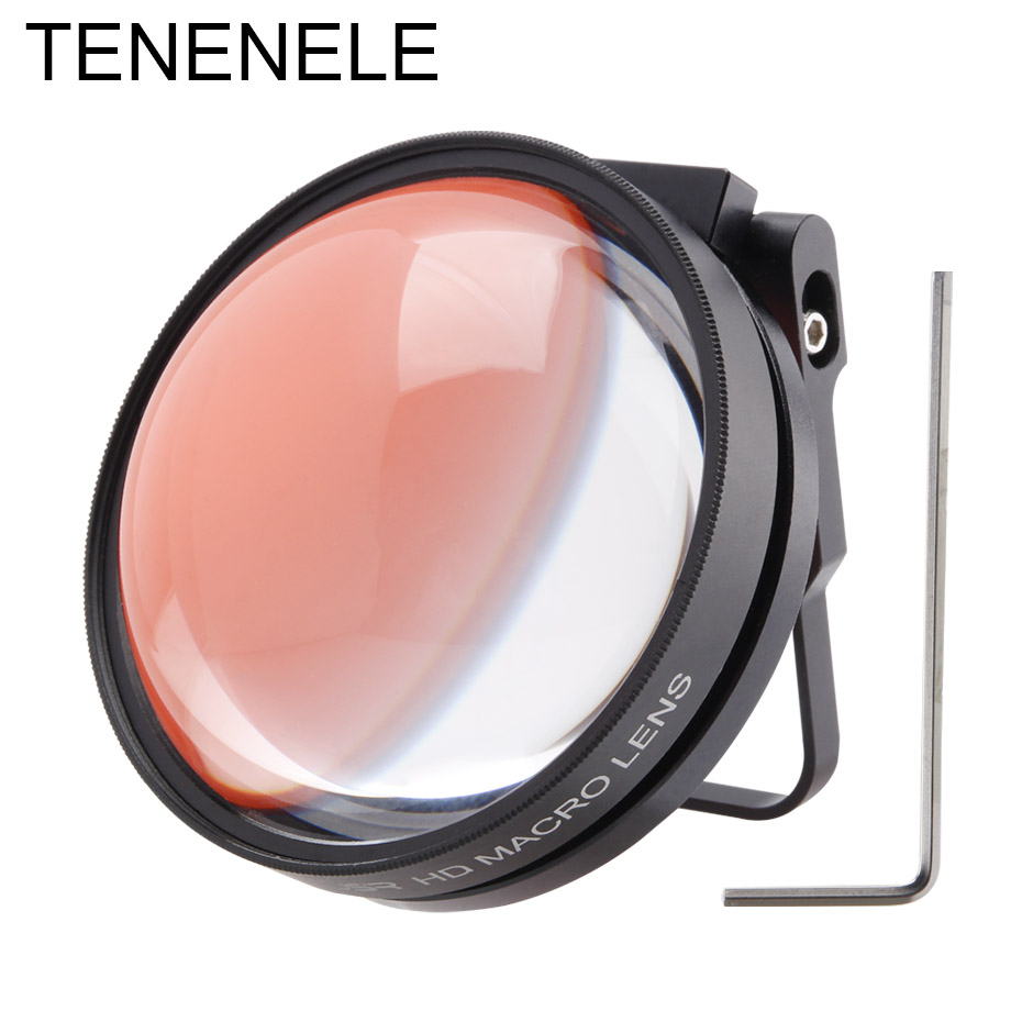 Action Sport Camera Filters 10X/24X Macro Close-up Lens Diving Red Filter For GoPro Hero 5/6/7 Black 2018 Underwater Accessories