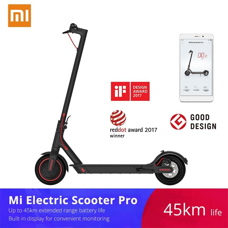 2019 Xiaomi Mi Electric Scooter Mijia M365 Pro Smart E Scooter Skateboard Mini Foldable Hoverboard Longboard