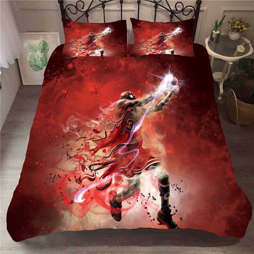 Musolei ensemble de literie 3D Michael Jordan   Housse de lit ...