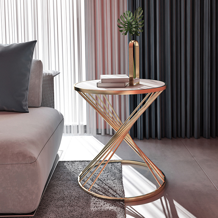 Coffee Table Modern Simple Marble Sofa