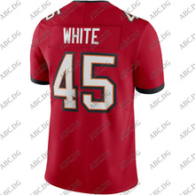 Jersey Tampa Bay Customized 4XL Stitch Red White Youth Kid Vapor-Limited Devin Men Women
