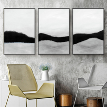 Abstract Black and White Poster Canvas Painting Print Living Room Bedroom Office Modern Picture Wall Art Decoration Home Decor modern black swan and white swan canvas painting print poster picture home bedroom wall art painting decoration can be customize
