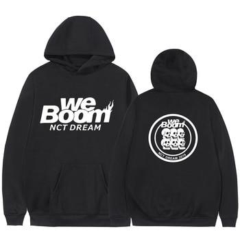 Nct Dream World Tour The Same Hooded Hoodie Coat 2020 New Couple Sweatshirts Harajuku Hip Hop Hoodies Sweatshirt Male Streetwear платье dream world dream world mp002xw0tob7