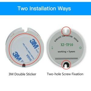 Image 5 - مستشعر حرارة لاسلكي الارسال مسجل بيانات درجة الحرارة عن بعد مراقبة درجة الحرارة اللاسلكية للفريزر 433/868/915Mhz