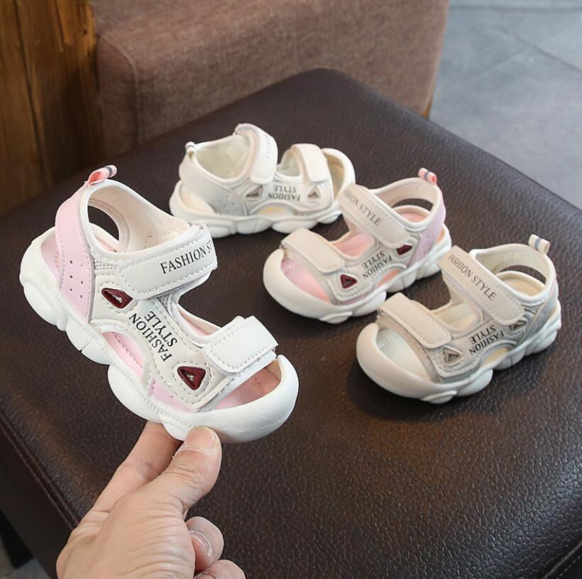 2020 Summer Infant Toddler Shoes Baby Girls Boys Casual Shoes Non-Slip Breathable High Quality Kids Anti-Collision Beach Shoes
