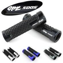 CNC Accessories Rubber Racing Motorcycle Handle Handlebar Hand Bar Grip For Kawasaki GPZ 500 S EX500D/E цена в Москве и Питере