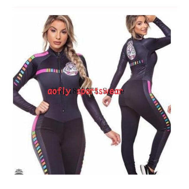 2020 feminino longo triathlon manga longa ciclismo skinsuit maillot ropa ciclismo casal conjuntos de camisa bicicleta macacão 16 cores macaquinho ciclismo feminino manga longa roupas femininas com frete gratis roupa de 3