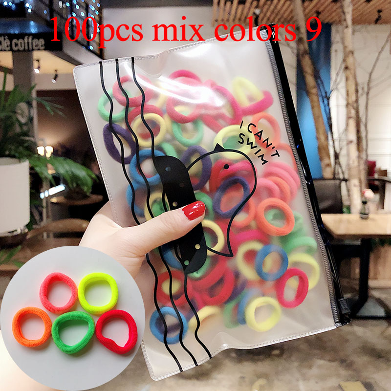 100pcs mix colors 9