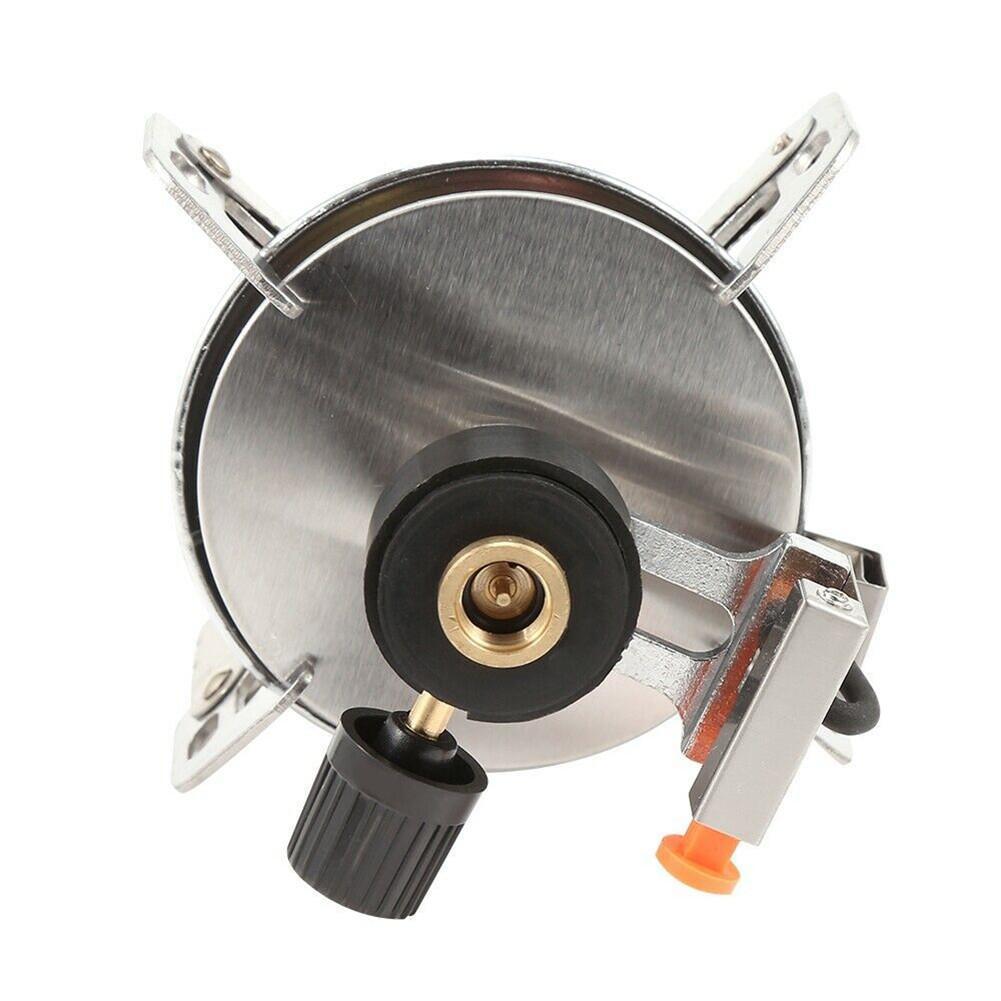 Queimador de fogão portátil ultraleve redondo fogão