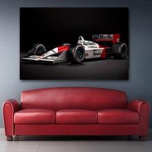 Mclaren Honda – affiches murales classiques de luxe formule 1 F1, voiture de Sport, peintures sur toile imprimées pour décoration de salon et de maison