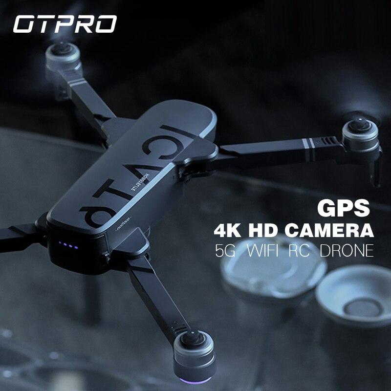 Отпро анти встряхивание 3 оси Gimble GPS Дрон с WiFi FPV 1080P 4K камера бесщеточный мотор складной Квадрокоптер игрушки подарок rc Дрон мальчик