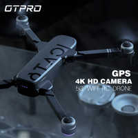OTPRO Anti-shake 3 Axis Gimble GPS Drone with WiFi FPV 1080P 4K Camera Brushless Motor Foldable Quadcopter toys gift rc dron boy