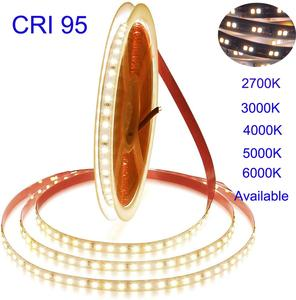 Image 1 - 2020 NEW 5m 5Years Guarantee  White  High CRI 95 LED Strip Light DC 12V 2835 LED Warm White Nature White