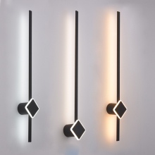 Modern Led Wall Light 120 90 60cm Sconces Wall Lamp For Living room Bedroom Bahtroom Lamp Mirror Light Black&Gold Wall Led Lamps