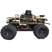 1/10 Programmable ROS Robot Ackerman Suspension Autopilot Ride Kit For Jetson TX2 Children Developmental Toys - Outdoor Version(China)