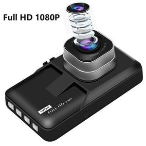 Image 4 - 3 Inch Xe ĐẦU GHI HÌNH Camera Full HD 1080P Hai Ống Kính Chiếu Hậu Video Camera Tự Động Registrator Tầm Nhìn Ban Đêm Dash cam