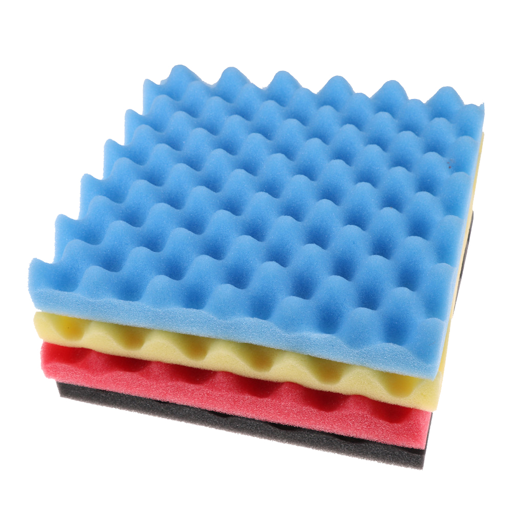 300X300X50mm Soundproofing Foam Acoustic Foam Sound Treatment Studio Room Absorption Tiles Polyurethane Foam