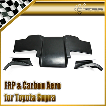 Discount  Car-styling For Toyota Supra Top Secert FRP Fiber Glass Rear Under Diffuser