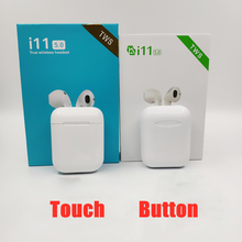 i11 TWS Bluetooth 5.0 Touch Wireless Earphones Earpieces mini Earbuds i7s With Mic For iPhone X 7 8 Samsung S6 S8 Xiaomi Huawei colorful i7s tws earbuds ture wireless bluetooth wireless earphones for iphone x 8 8 plus for huawei twins earpieces stereo