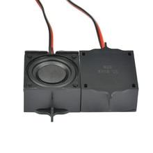 SOTAMIA 2Pcs Mini Audio Sound Speakers Altavoz 8 Ohm 5W DIY Multimedia TV Box Pc Speaker Computer Home Theater Loudspeaker