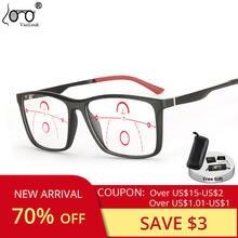 Прогрессивные Мультифокальные очки для чтения анти синий светильник