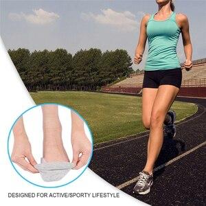 Image 3 - 2Pcs פיקה מתקן כאב הקלה פטיש הבוהן מפריד עם קדמת כף הרגל טיפול רפידות הגנת בוהן Valgus רגל לעיסוי חם
