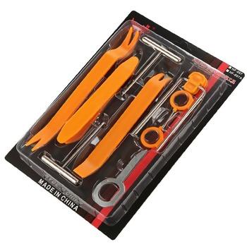 4 12 sztuk Radio samochodowe zacisk do drzwi wykończenie panelu Dash Audio usuwanie otworzyć narzędzie do montażu panelu drzwi dla Auto pojazdu dla BMW Audio podważ tanie i dobre opinie DEDOMON CN (pochodzenie) 30cm TWORZYWA SZTUCZNE 200g 20cm Q786 Iso9000 Plastic Orange 12pcs 4pcs 1 set Auto Trim Removal Tools