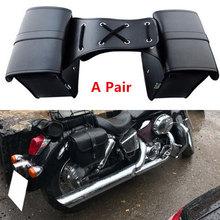 Кожаная сумка-седло для багажа, прочная велосипедная Боковая Сумка для хранения инструмента