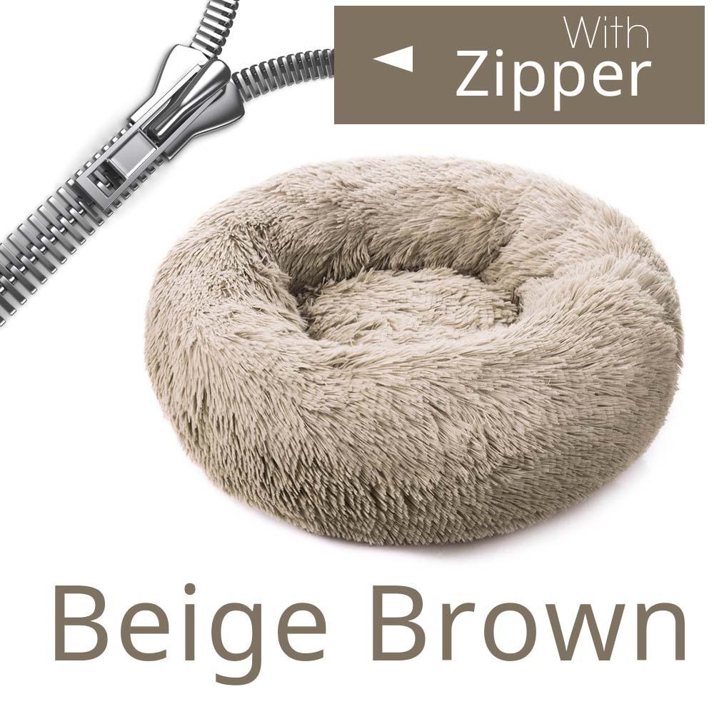 Zipper Beige Brown