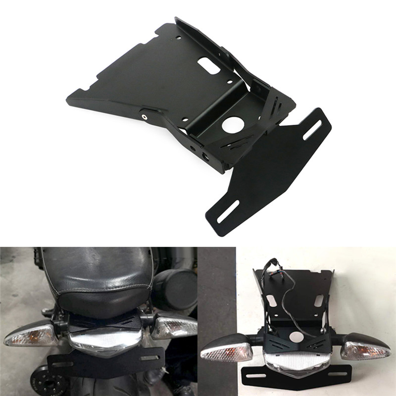 Motorcycle <font><b>Tail</b></font> <font><b>light</b></font> Mount License Plate Bracket 2014 - 2018 For <font><b>BMW</b></font> <font><b>R</b></font> <font><b>NINE</b></font> <font><b>T</b></font> R9T Rear Tailight mounting Rear-end lamp holder image