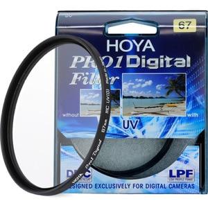 HOYA PRO1 Digital UV Filter 49 52 55 58 62 67 72 77 82 mm Low Profile Frame Pro 1 DMC UV(O) Multicoat For Nikon Canon Sony Fuji