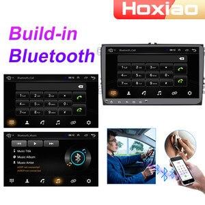 Автомобильный мультимедийный плеер с радио, 2DIN, Android 8,1 для VW Volkswagen Golf Polo Tiguan Passat b7 b6 Skoda Octavia навигация GPS 2 Din