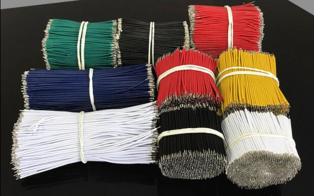 100pcs Or 1000pcs 50MM 5CM  Electronic Cable Tinned Cooper Wire Tin Jumper Breadboard For PCB Circuit Board