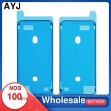 100 Waterproof Sticker For iPhone 6S 7 8 Plus XR X XS Max 11 12 Pro Max Mini Adhesive LCD Screen Frame Double-sided Tape Repair