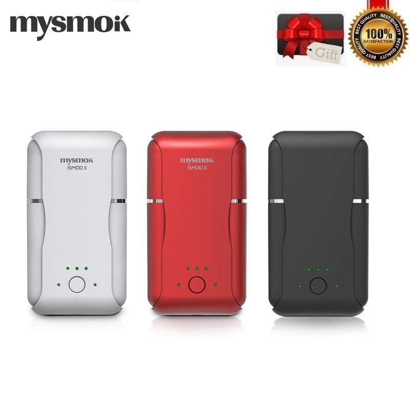 Original MYSMOK ISMOD II Kit Heat Not Burn with Double Rods  2200mAh Built in Battery  for Heating Tobacco Cartridge  VaporizerElectronic Cigarette Kits