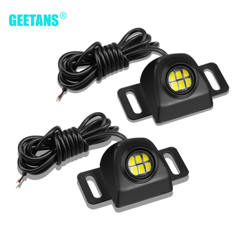 Car Reverse Light Backup Tail Light Auto Led Bulb Motorcycle Reversing Lamp Parking Auxiliary Light Car Styling Light Waterproof motorcycle car waterproof shockproof durable black 12 80v 105db backup reverse alarm horn stable speaker ce certification