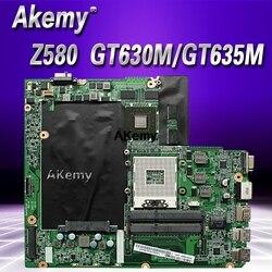 Z580 płyta główna dla Lenovo Z580 HM76 USB3.0 DALZ3AMB8E0 GT630M/GT635M laptopa płyty głównej płyta główna w USB3.0 pracy Test 100% oryginalny