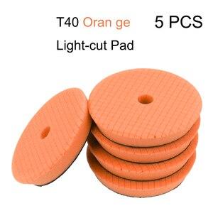 Image 4 - 5 unids/set 6 pulgadas esponja para encerar de abrillantado para coche Kit de coche polaco pulido Pad abrasivo la cera del coche disco esponja almohadillas de espuma