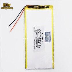 Novo 3300mah li-ion tablet pc bateria para 7,8,9 polegada tablet pc 3.7 v 2974117 polímero lithiumion bateria de alta qualidade