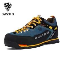 Hiking Boots Shoes Sneakers Men Mountain-Climbing Hunting Outdoor Sport Waterproof DWZRG
