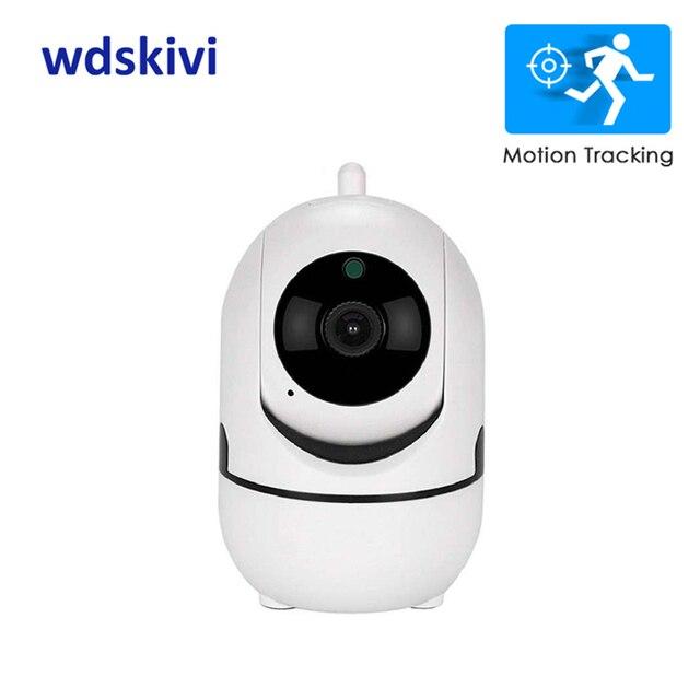 wdskivi Auto Track 1080P IP Camera P2P NAS RTSP ONVIF Surveillance Security Monitor WiFi Wireless Mini CCTV Indoor Camera YCC365