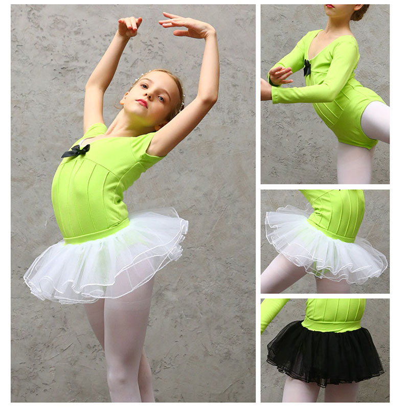 children-short-sleeve-font-b-ballet-b-font-gymnastics-dance-leotard-set-with-detachable-skirt-ballerina-bodysuit-training-wear