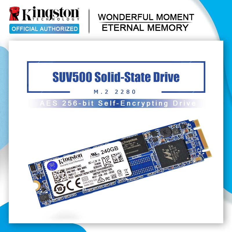 Kingston UV500 SSD Внутренний твердотельный накопитель M.2 120 ГБ 240 ГБ 480 ГБ SATA 3 м2 жесткий диск HDD HD SSD для ноутбука