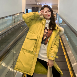 -30 Degrees Winter Women Long Parkas Jackets Plus Size M-5XL Thick Warm Big Fur Collar Female Slim Sintepon Parkas Outwear Coat 1