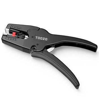 Automatic Electrical Wire Cable Stripper Stripping Plier Terminal Crimper Hand Tool Cable Cutter Black Crimper цена 2017