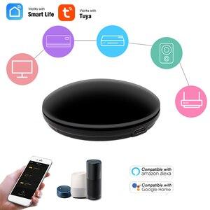 Image 2 - FrankEver Smart IR Remote Control WiFi IR Blaster Controller Universal Repeater Hub Work with Alexa Tuya APP Smart Household