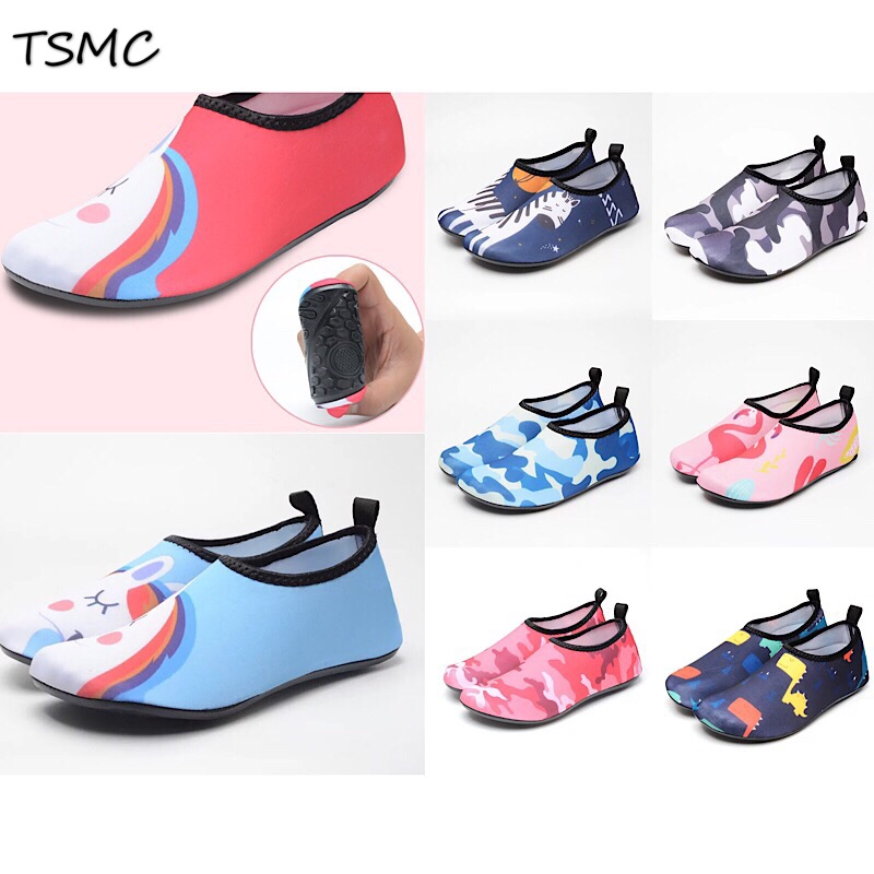 TSMC Beach Swimming Water Sport Non-slip Socks Anti Slip Shoes Yoga Fitness Dance Swim Surfing Diving Underwater Shoes Men Women