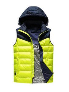 Coats Jacket Safety-Clothing Heated Usb-Work Smart Winter Adjustable Sleeveless Men DSY008