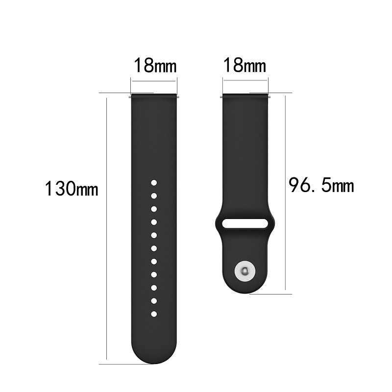 Cinturino in silicone per Huawei TalkBand B5 Parlare Fascia B5 Bluetooth Intelligente Del Braccialetto di Sport Braccialetti 18 millimetri uomo donna cinturino di vigilanza cintura